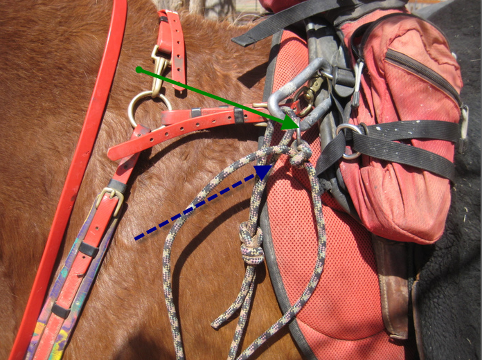 Hooking up leadline